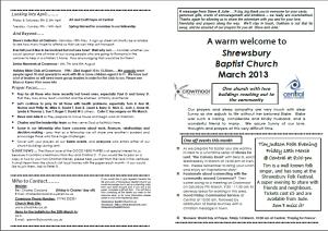 march 2013 bulletin